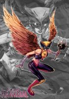 Hero #4: Hawkgirl by KHAN-04