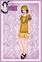 Disney Flapper - Snow White by HelleeTitch