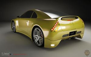 bolt_conceptcar_rear_view by N-GonDesign