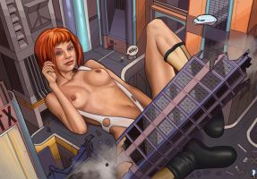 The 6th Element by giantess-fan-comics