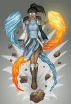 Korra - Avatar State by RebeccaMorton