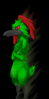 Fusion Chicken Character Art by FusionFallCreations