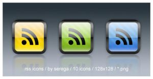 RSS Icons by serega