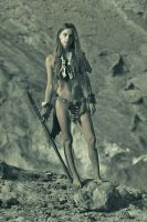 Cave girl by ohlopkov
