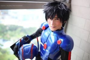 Hiro Hamada Flight Suit Cosplay Big Hero 6 by liui-aquino