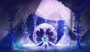 Frozen Elsa's Throne Room by ECALA