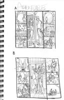 Adventure Comics 2 Var layouts by manapul
