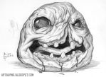 Monstro From Binding of Isaac by FlammablePerson