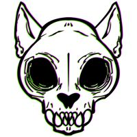 Cat Skull by beverly546