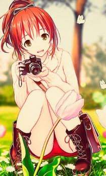 With her camera by SoCuteMonsterxD