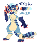 Tiger Dancer AUCTION CLOSED by LiLaiRa