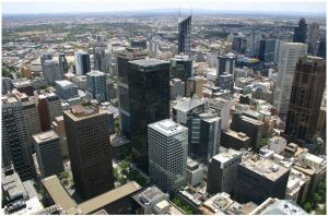 Melbourne Skyscrapers by aare