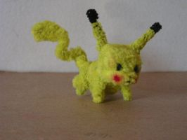 Pikachu by fuzzyfigureguy