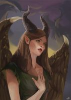 Young Maleficent by teohcheeeing