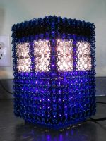 Chaimail TARDIS Lamp 2 by Telperinon