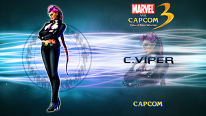 Marvel VS Capcom 3 C Viper by CrossDominatriX5
