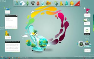 My Gaia Desktop 09 by melongray