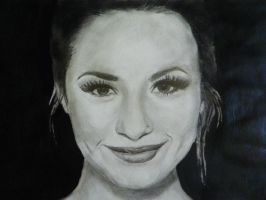 Demi Lovato drawing by Bluecknight