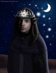 Marcus - Elven King_Night by fluffycawwot