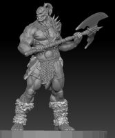 Zbrush Orc by chrisgabrish