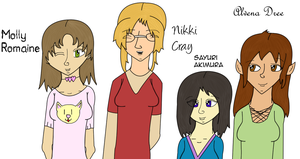 Original: Gamea Girls by NextTrickAnvils