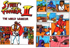Street Fighter II comic from 1992 or 93... by Carnivius