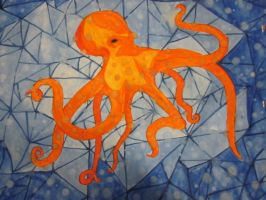 Watercolor Octopus FOR SALE by xCheshireGrin228