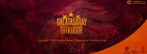 Galatasaray Tutkudur |Facebook Cover by CandarDesign