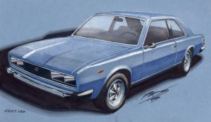 Fiat 130 2 by PPLBLISS
