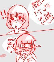 When Someone Wants Me To Be Their Bff Of Friend :U by FriskyFrisk