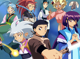 Tenchi Cast by hand-made-city