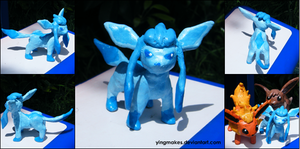 PKMN: Glaceon by yingmakes