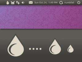 Deluge ubuntu-mono-dark Icons by numbfall