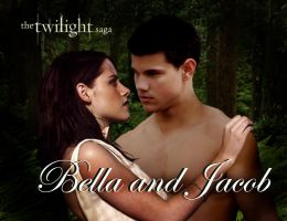 Jacob and Bella by Cherolibubs