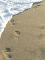 Footprints in the Sand by sxywoman