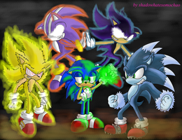 Sonics mistakes by shadowhatesomochao