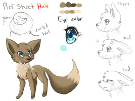 Ref sheet Halo by Mimkage