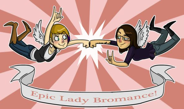 Lady Bromance by Shannon-Long