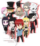 Red Cross Chibi Academy Volume 1 by Skeletonny