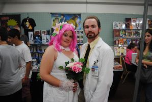 Archer's Dr. Krieger and his Virtual Wife Cosplay by agentpalmer