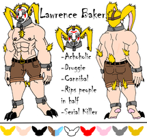 Lawrence the Cannibalistic Bunny by CNena