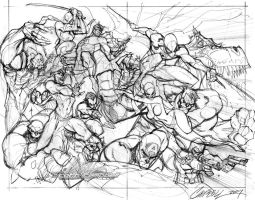 Marvel Comics Presents layout by J-Scott-Campbell