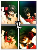 L of Death Note by Riunien