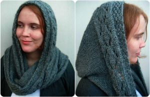 Scoodie, hooded scarf, ooak by PolClary