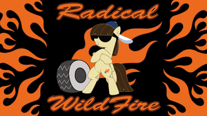 Radical Wildfire Wallpaper by Amana07
