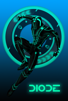 TRON OC: DIODE by Jerepasaurus