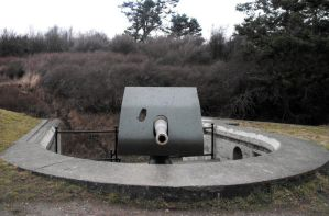 Fort Casey: Cannon IV by Photos-By-Michelle