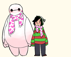 matching scarves by EndlessCartoon