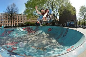 Mandark frontside air by eddiethink