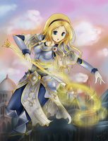::League of Legends:: Lux, the Lady of Luminosity by artsy-akalei